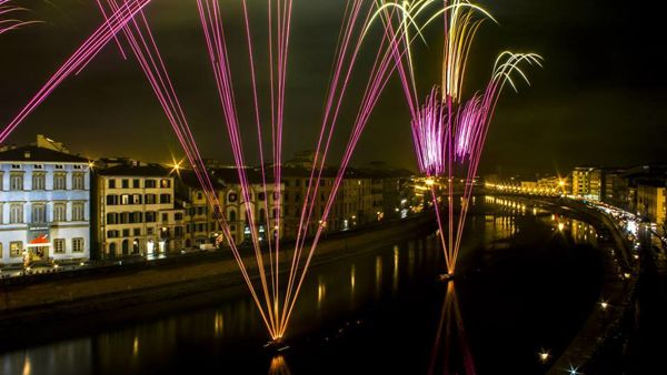 Capodanno sui lungarni a Pisa