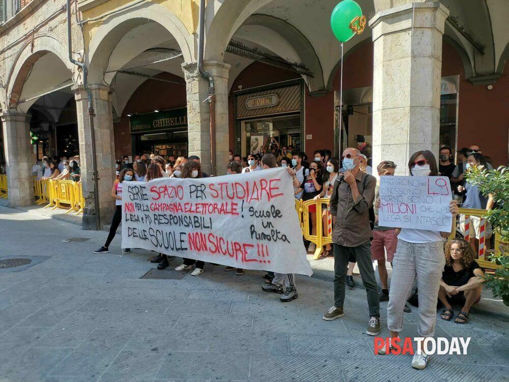 Matteo Salvini a Pisa