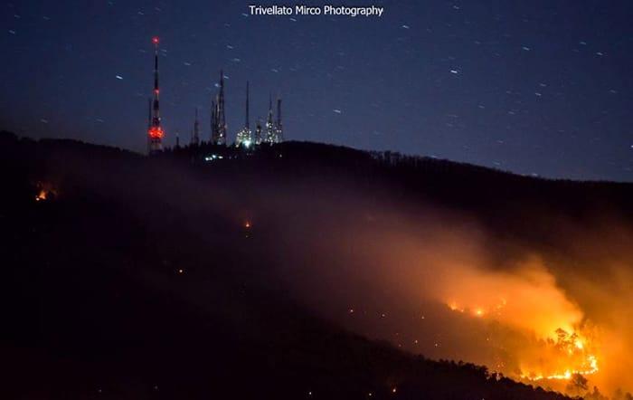 Incendio Serra Mirco Trivellato