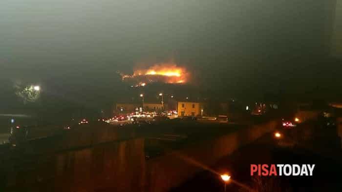 Incendio vecchiano 25 settembre 2018 5
