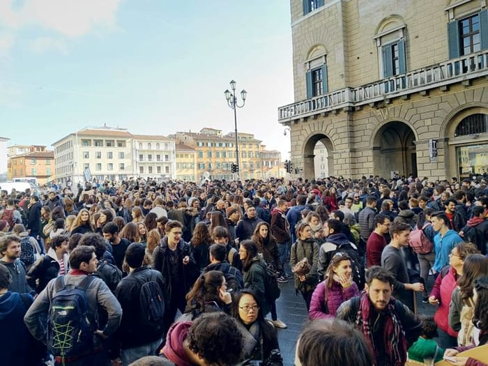 Sciopero clima a Pisa 1